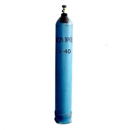 Баллон кислородный (О2) 40л