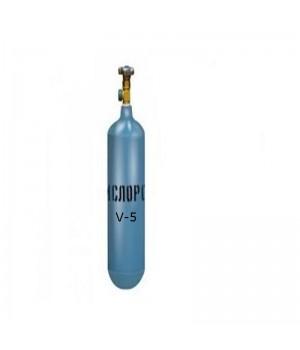 Баллон кислородный (О2)-5л