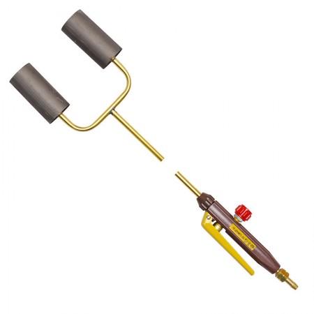 Горелка газовоздушная ГВ Донмет 252 2-х факел. L=940 мм (рычаг)