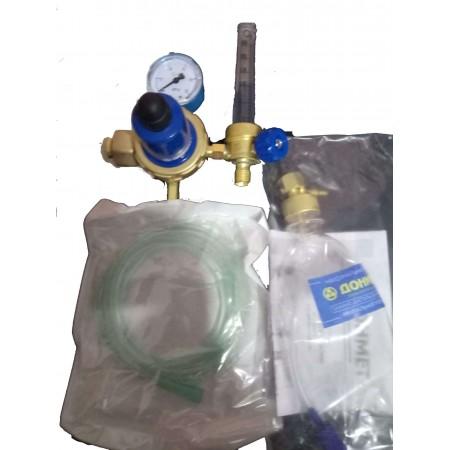 Редуктор кислородный БКО-50-4-2М ДМ с ротаметром и увлажнителем