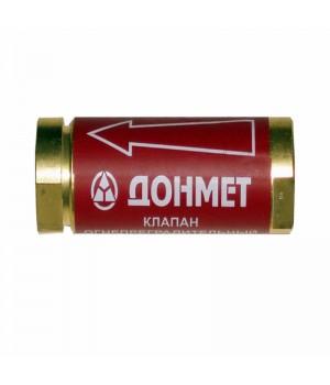 Клапан  огнепреградительный сетевой  КОГ Донмет