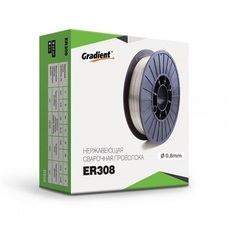 Проволока сварочная нержавеющая ER 308/308L d=1.2 мм 5кг