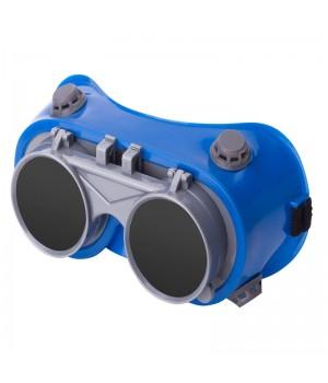 Очки защитные откидные стекла, REVLUX