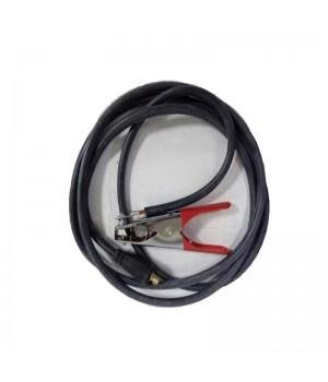 Зажим массы с кабелем в комплекте КГ1x16, 2м